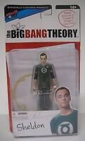 The Big Bang Theory Sheldon Cooper Green Latern Action Figure NIB Bif Bang Pow