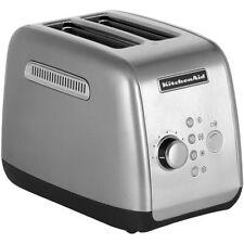 Kitchenaid Artisan 5KMT221 Extra Wide 2-Slice Slot Motorized Toaster Silver