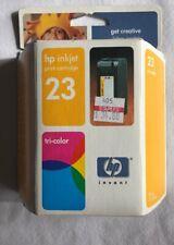 HP 23 Tri Color Ink Cartridge Genuine