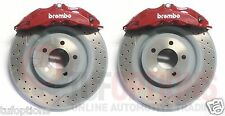 Ford FPV Brembo FG 6 Piston FRONT Calipers & GENUINE Brembo Discs Set (GENUINE)