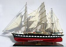 "LE BELEM Tall Ship Model 32"" Handcrafted Wooden Ship Model NEW"