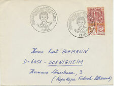 FRANKREICH 1968, 25 Jahre Kinderspitäler in Frankreich FDC mit PARIS ESST