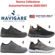 NAVIGARE - COTTON BELT Sneakers scarpe sportive casual da uomo comode