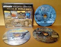 Ultimate Wargame Collection Volume 2: World War II PC 1998 SSI - Missing 1 Disc