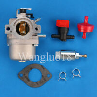 Carburetor W/Fuel Solenoid For Briggs Stratton 799728 495706 494502 494392