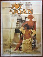 Plakat Erotik Joy Und Joan Isabelle Solar Brigitte Lahaie Saurel 120x160cm