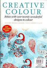 Creative Colour With High Quality Paper Coloring For Adults Issue 13 RELAX COLOR