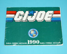 1990 GI JOE CATALOG LEAFLET BROCHURE KATALOG 'S.O.S. COBRA GEVAAR' HASBRO NL
