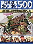 Best-Ever 500 Recipes by Martha Day ( 2010  Softcover )   NEW