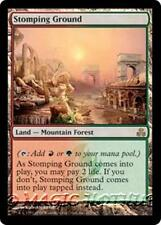STOMPING GROUND Guildpact MTG Land — Mountain Forest RARE