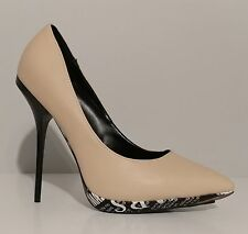 "NEW!! Liliana Beige Marilyn Monroe Print Pumps 5"" Heels Size 8M US 38M EUR"