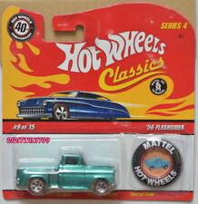 Hot Wheels Classici Serie 1.2m56 Flashsider 9/15 W/Mattel Bottone Verde W+