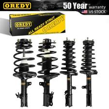 Front Rear Set (4) Complete Struts Assembly w/coil springs For Camry 1997-2003