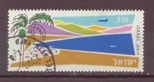 Israel, Air Mail, Port of Elat, Used, 1962