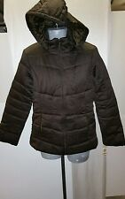 Style & Co. Womens Winter Hooded Coat. Small/Brown.