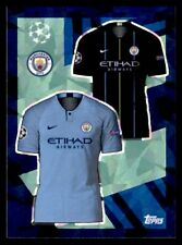 Topps Champions League 2018/19 - Home/Away Kit Manchester City FC No. 156