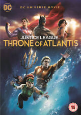 Justice League: Throne of Atlantis DVD (2018) Ethan Spaulding ***NEW***