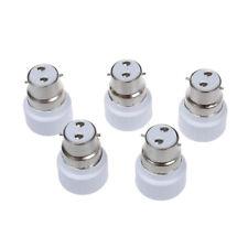 G3K5 B22 to GU10 Lamp Light Bulb Base Socket Converter Adaptor 5 pack F1