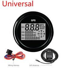 85mm 7 Colors LED Backlight GPS Digital SOG COG ODO TRIP Car Truck Speedometer