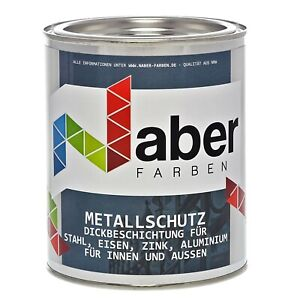 750 ml Metallschutzlack Rostschutz mit Grundierung RAL 7016 Anthrazitgrau SG
