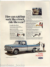 1971 FORD PICKUP advertisement, Ford Ranger XLT, color photo
