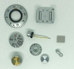 9 Genuine New/Old Stock Leica, Leitz Parts for IIIF Camera Family..Also IIIG?