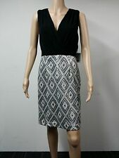 NEW - Calvin Klein - Size 10 - Sleeveless Sequin Diamond Dress - Black - $169
