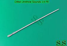 1 Piece Dittel Urethral Sounds 14 FR OB/GYNO INSTRUMENTS