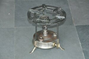 Old Brass & Iron Primus No.96 Original Handcrafted Kerosene Stove, Sweden