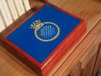 Royal Navy, HMS Sheffield Premium Military Medals and Memorabilia Box Fab Gift