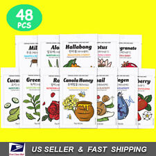 Korean Skin Care Face Mask Sheets The YEON  Everyday Natural Care 48 pcs