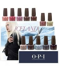 OPI FALL 2017 COLLECTION ICELAND 12 NAIL LACQUERS