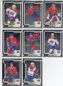 18/19 OPC Platinum Montreal Canadiens Team Set w/RCs - Price Kotkaniemi RC +