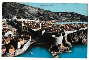 S35702 Dubrovnik 1911 PC From Ragusa To Bohemen