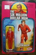 🎈 Six Million Dollar Man Zica Steve Austin 2013 action figure Bionic Woman toy
