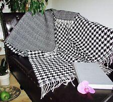 Manta de lana Cuadros Cubierta sofa funda Sofá día 130x165 cm 100%