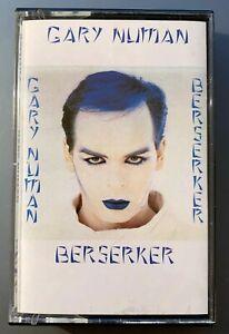 Gary Numan Berserker Cassette Extended Versions NUMAC 1001
