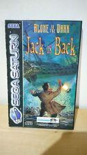 Alone in the Dark Jack is Back Sega Saturn Spiel komplett    A773