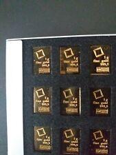 More details for 1 gram valcambi gold combi bar