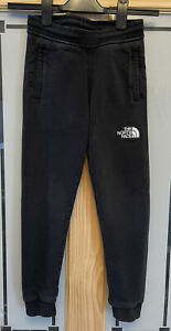 THE NORTH FACE. Boys Black Slim Fit Joggers. Size S. Approx 8-9yrs.