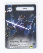 Star Wars Destiny Dice Building Game: Guard Q3 alt art promo card New
