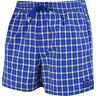 New Mens Adidas Swim Beach Swim Swimming Board Shorts Summer Holidays Blue Check