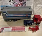 g1 optimus prime Used, Broken Arm And Trailer Door. Vintage. Come With Old Order