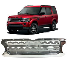 LAND ROVER DISCOVERY LR4 FRONT GRILLE CHROME FRAMED SILVER CENTRE MESH