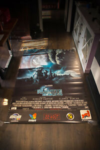 PLANET OF THE APES Tim Burton 4x6 ft Shelter Original Vintage Movie Poster 2001