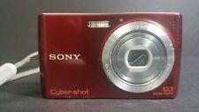 Sony Cyber-shot DSC-W510 12.1MP Digital Camera - Red