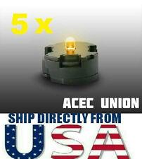 5 X High Quality MG 1/100 QANT Raiser Gundam YELLOW LED Lights U.S.A. SELLER