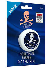 The Bluebeards Revenge Mens 20ml Hair Styling Strong Hold Pomade Travel Size