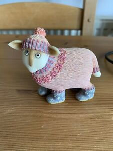 Ewe and Me Flora Sheep Collectable Ornament by Toni Goffe Border Fine Arts