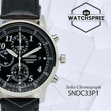 Seiko Chronograph Watch SNDC33P1
